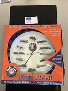 Lionel Lwc13 Train Whistling Wall Clock 12 Authentic Lionel Trains And Sounds