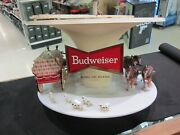 Budweiser Clydesdale Parade Rotating Carousel Light Parts Only