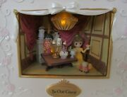 Precious Moments Disney Belle Be Our Guest Shadow Box Lights And Sound Led New