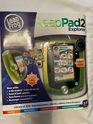 Leappad 2 Explorer Leap Frog Game System And Leap Pad Carry And Play Accessories New