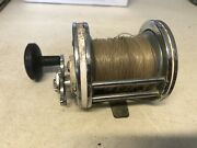 Vintage White Mitchell Reel France Multiplier For Parts Or Repair