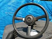 1991 1992 1993 Jeep Cherokee Steering Column Assembly W Switches Wheel And Key