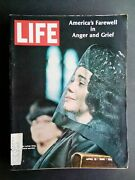 Life Magazine 1968 April 19 Martin Luther King Jr Funeral, Anger And Grief