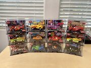 Disney Store/pixar Cars Diecast In Collector Acrylic Case 143 Lot Of 12 Chase