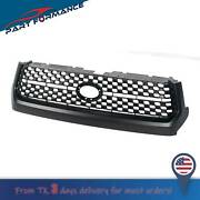 For 2014-2020 Toyota Tundra Front Grille Matte Black Bumper Grille Replacement