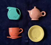 Genuine Fiestaware Accessories Magnets- 4 Piece Set 1940and039s Collection