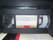 T-120 Used Blank Vhs Barney 6 Hours Rare Goes To School Concert Birthday Rock