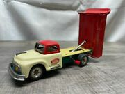 Rare Antique Made In Japan Tin Litho Toy Dump Truck