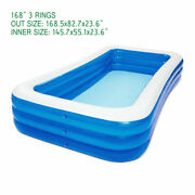 168 X 82 For Kids Big Inflatable Spas Pool Set For Adult Swimming Pool