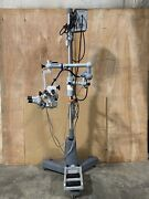 Zeiss Opmi 6-s Surgical Microscope Dual Head W/ Light Source/footswitch.