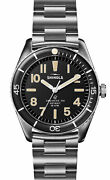 New Shinola The Duck Stainless-steel 42mm Mens Watch S0120183128
