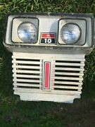Vintage Dynamark 10/36  Tractor Grille Wall Art