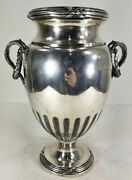 Antique French 950 Sterling Silver Mercury Vase First Standard Second Empire