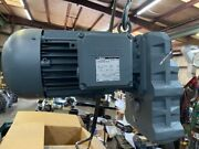 Bauer Motor And Gearbox E26548532-1 Bf30-04/dhe11ma4/av 4hp / 3kw New