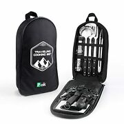 Camping Cookware, Camp Kitchen, Camp Cookware, Camping Utensils Set, Camping
