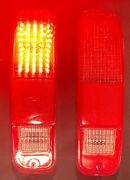 Ford Truck F-150 250 350 73-79 Red Tail Lights Built-in Full Led Board New