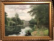 School French Impressionist - Part Of Peach - Signed Circa 1890