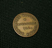Naperville Illinois Il Candy Kitchen Good For 5andcent Except Tobacco Trade Token
