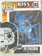 Kiss Signed Ace Frehley Funko Pop Frehley Autographed Funko Pop Simmons Stanley