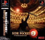 Playstation Side Pocket 3 Playstation Soft Table Game Acceptable E6a