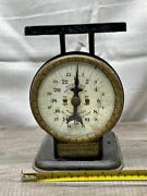 Antique Early 1900s American Cutlery Co Usa Vintage Scale Advertising