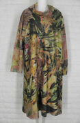 Inoah Dress Champs Elysees Floral Cowl Neck A Line Multicolored Nwt S M Xl
