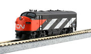 Kato N 106102 Cn Transcontinental 7 Car Pax Set With F7a Dc Loco 9098 M1 Track