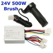 24v 500w Motor Brush Speed Controller And Electric Bike Scooter Universal Grip