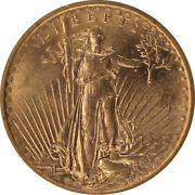 1922 Saint St. Gaudens 20 Gold Double Eagle Old Holder Anacs Ms 62