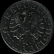 Austria. 5 Groschen, 1970 - Eagle With Hammer And Sickle, Ex-set Proof