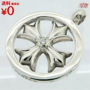 Buying Chrome Hearts Ch Plus Medallion Charm After-dia Silver Sv925 Diamond