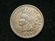Blow Out Sale Xf+ 1899 Indian Head Cent Penny W/ Diamonds And Full Liberty 123w