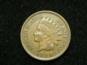 Blow Out Sale Au 1899 Indian Head Cent Penny W/ Full Liberty And Diamonds 114e
