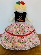 Alma's Design Hansel And Gretel And Witch Topsy Turvy Cloth Flip Doll 8