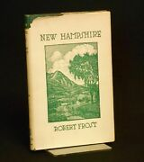 Robert Frost, J J Lankes / New Hampshire A Poem With Notes And Grace Notes 1st