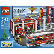 Lego City Fire Station 7208. Shipping Is Free