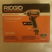 Brand New Sealed Rigid Brushless 6-mode Impact Driver R862311b New Fast Shipping