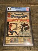 Amazing Spider-man 13 Cgc 3.0 Origin And 1st Appearance Of Mysterio