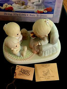 Precious Moments 527556 Bring The Little Ones To Jesus 1991 Sjb- G-clef-mib