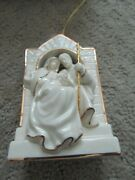 Lenox Nativity Ornament Mary Joseph And Baby Jesus. Excellent Condition.