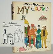 Signed W. Original Drawing Book By Charles Addams The Addams Family