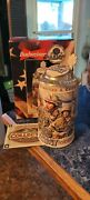 1998 Budweiser Army Stein honoring Traditionand Courage First In A Series Cs357