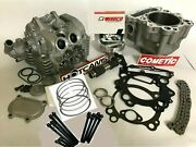 Rhino Grizzly 660 Cylinder Head Assembled Valves 102mm Big Bore Mudbuster Cam