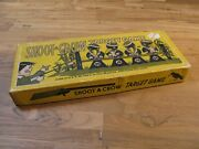 Antique Toy Target Game / Shoot A Crow / Complete With Daisy Cork Gun