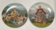 The Sound Of Music 1 And 2 Edwin Knowles Sound Of Music Plates 1986