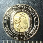 Florida Fish And Wildlife Conservation Commission Law Enforcement Challenge Coin