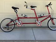 Bike Friday Bicycle. Tandem And Single Both .model Q. Gift Quality Conditionandnbsp
