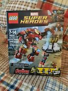Lego Marvel Super Heroes The Hulk Buster Smash 76031 New In Sealed Box