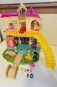 Disney Sofia The First Magical Talking Castle Play Set Lot