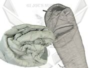 Ex Condition Military Mss Foliage Green/grey Intermediate Cold Sleeping Bag Os